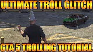 GTA 5 Online Ultimate Troll - How To Troll People On GTA V Multiplayer (Los Santos Customs Trolling)
