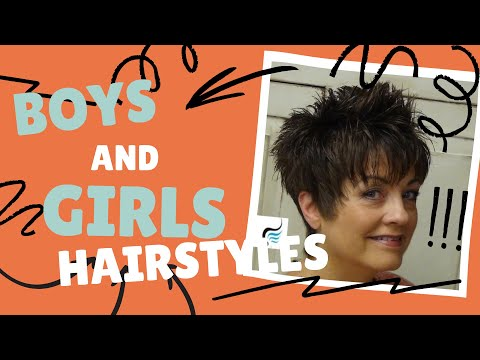 How to Cut a Ladies Mohawk Hairstyle