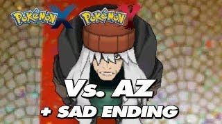 Pokemon X & Y Final Battle Trainer AZ + Sad Ending