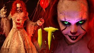 IT PENNYWISE MAKEUP TUTORIAL | HALLOWEEN 2017