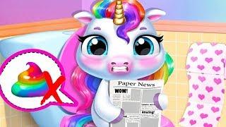 Fun New Born Pony Care - My Baby Unicorn Kids Game - Fun Cute Pet Care & Makeover Mini Games For Kid