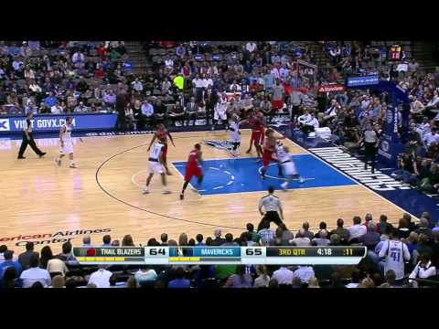 Portland Trail Blazers vs Dallas Mavericks | March 7, 2014 | NBA 2013-14 Season