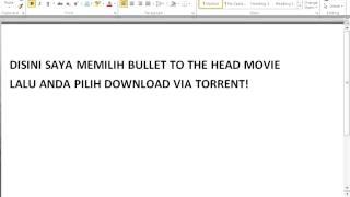 Cara Download Film Cepat Dengan TORRENT