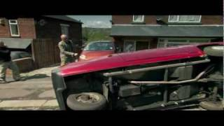 Top Gear: Jeremy Crashes the Reliant Robin Repeatedly