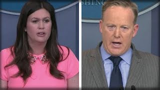 SHOCK REPORT: SEAN SPICER JUST HANDED SARAH HUCKABEE THE OPPORTUNITY OF A LIFETIME