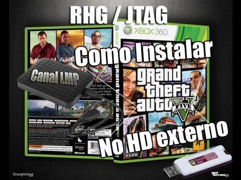 Como instalar gta v no hd externo xbox360 rgh jtag for Hd esterno xbox 360