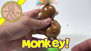 Pooping Candy Monkey With Wild Hair Dispenser From Galerie