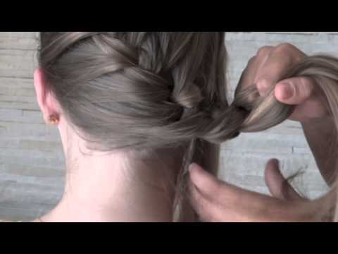 Cabelo: trança embutida lateral