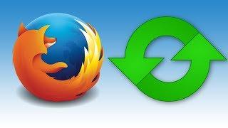 Restablecer La Configuración De Mozilla Firefox Sin Perder