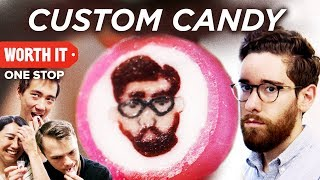 We Put Our Friend's Face On 3,500 Pieces of Candy