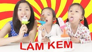 LÀM KEM PEPSI vs GUMMY 😘 DIY Pepsi and Gummy ice-cream ♥ Dâu Tây Channel