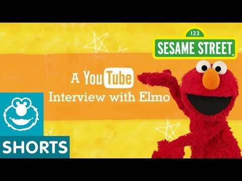 Sesame Street: Elmo's YouTube Interview, You asked and Elmo answered. Elmo sits down with his neighbor Chris to answer his fan mail. For more fun games and videos for your preschooler in a safe, chi...