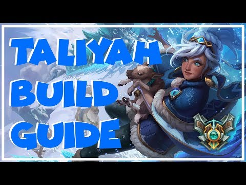 Taliyah Jungle Build Guide   Korean Build   League Of Legends