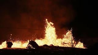 Lava flows from Hawaii's Kilauea volcano grow more vigorous