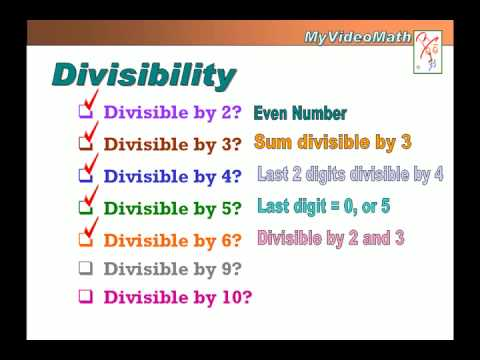 Divisibility of a Number