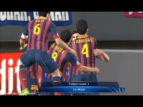 Barcelona vs Atletico Madrid - UEFA Champions League 01042014 Pes 2014 Preview