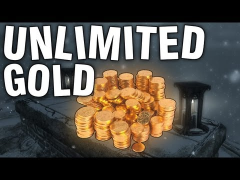 "Skyrim - Unlimited Gold / Coin Glitch Commentary ""Skeleton Tomb"""