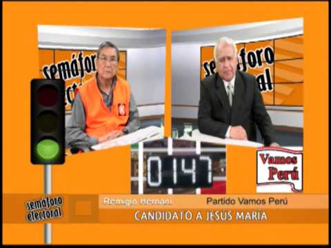 Semáforo Electoral - SEP 15 - Parte 4/4 - Jesús Maria: Remigio Hernani (VP) y Marcos Suzuki (FP)