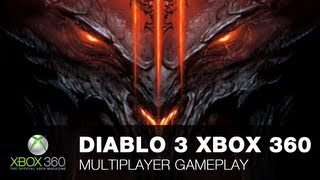 Diablo 3 Xbox 360 Multiplayer Gameplay With OXM