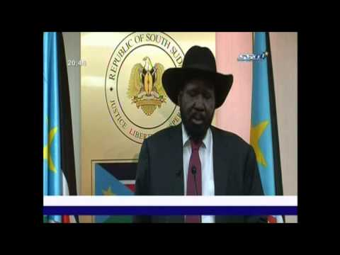President Salva Kiir Addresses The Nation