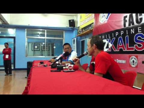 Philippines Post-Match Press Conference vs Malaysia