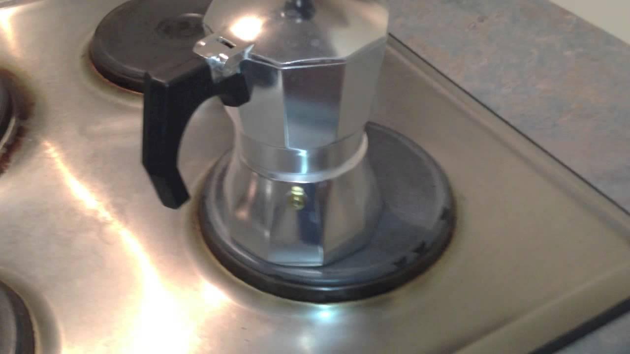 Coffee Maker How To Use : How to use a Stovetop Espresso Maker - YouTube