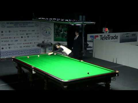 Last moments of Women's final - 2013 IBSF World Championship