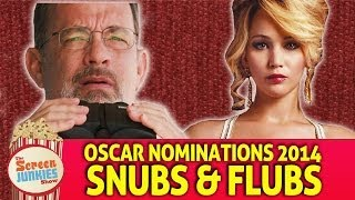 Oscar Nominations 2014: Snubs & Flubs!