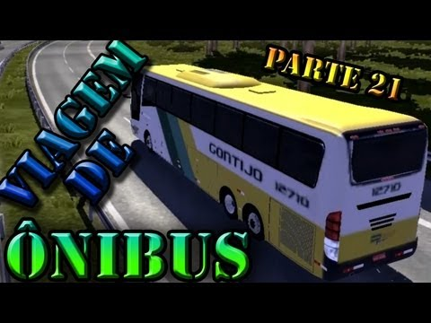 Euro Truck 2: Viagem de ônibus (parte 21)