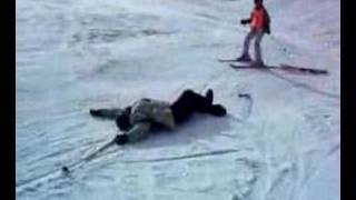 Lo que nunca debes hacer esquiando