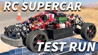 24 Horsepower RC SUPERCAR TEST RUN