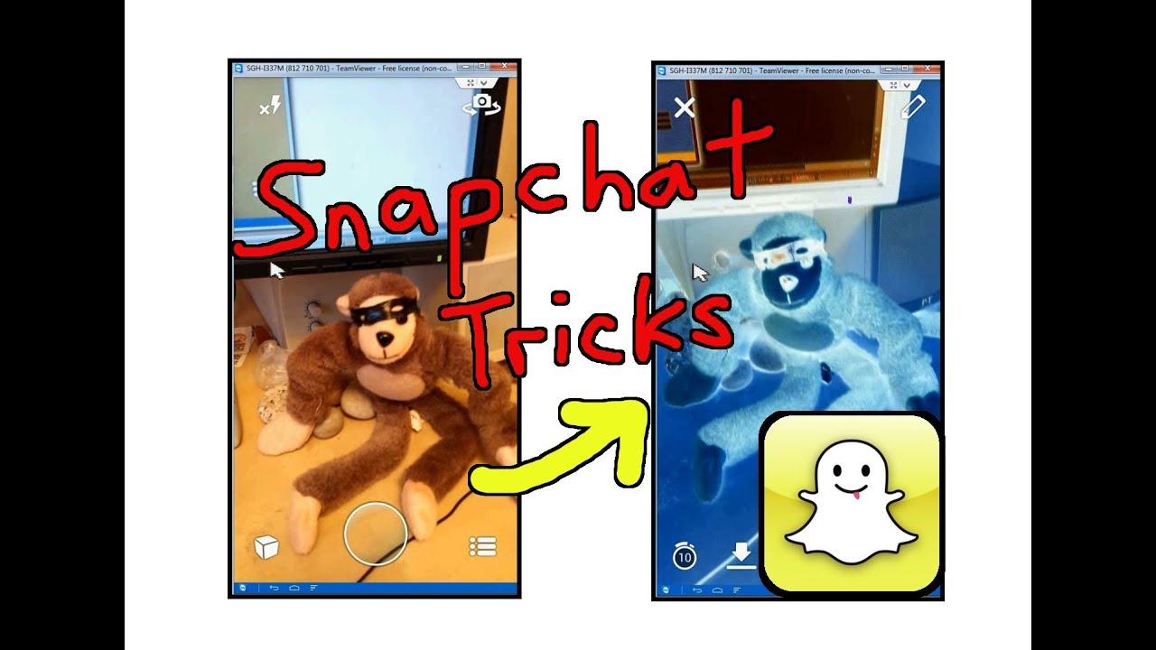 Snapchat Tricks - YouTube