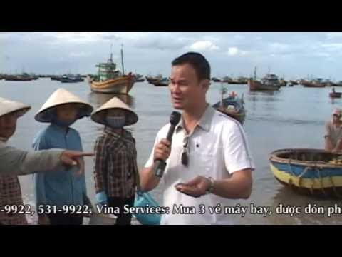 Du Lich Phan Thiet Part 2-Tiec hai san &Lang Chai ven bien by Pham Khanh LSTV