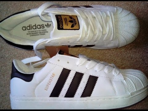 Adidas Superstar Originales Vs Falsos