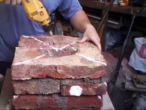 Tutorial fabricación de Horno para fundición casero Parte1
