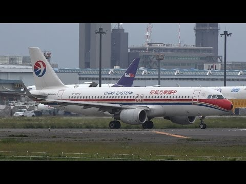 China Eastern Airlines Airbus A320-200 B-9970 Takeoff from NRT 16R