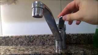 Arreglar una canilla monocomando