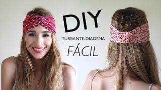 Cómo hacer turbantes - Manualidades