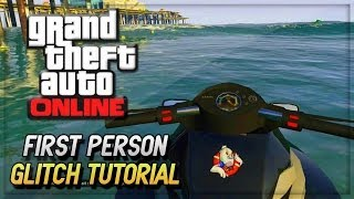 GTA 5 Online Glitches - GTA V First Person Glitch No Mods ! (GTA 5 Online Gameplay & Glitches)