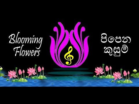 Blooming Flower & Sajini Weerasekara