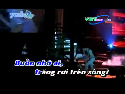 karaoke Nữa vầng trăng Remix