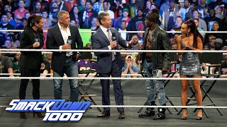 "Mr. McMahon interrupts ""Truth TV"" for a dance break: SmackDown 1000, Oct. 16, 2018"