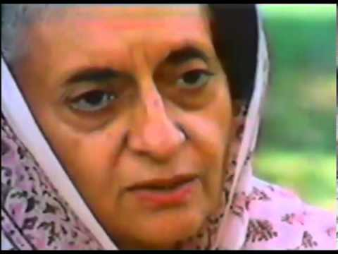 Rare interview footage of Indira Gandhi talking about sons and grandson Rahul Gandhi