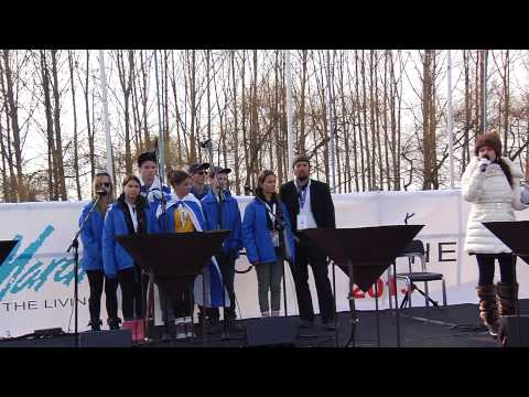 Eli, Eli Sung by Neshama Carlebach & 2013 March of the Living Children's Choir