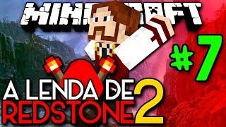 A Lenda de Redstone 2 - UMA NOVA DIMENSÃO! AZURITE!! - #7 - Minecraft