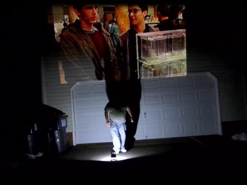 200+ inch movie playback on my house with a Brilens LS1280 DLP Laser Projector