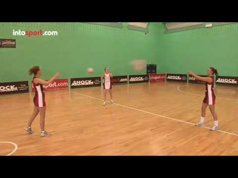 Netball 3 Point Passing Drill- Catch and Release