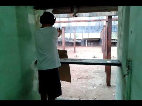 Tiro Pistola Imbel .40 a 25 metros