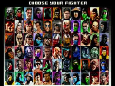 Mortal Kombat Project Characters