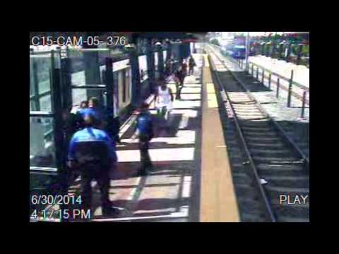 Deputy kills armed man at light-rail station